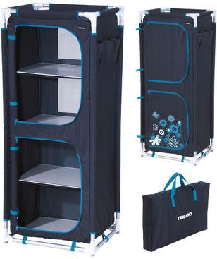 meuble de rangement gris camping car accessoires rando. Black Bedroom Furniture Sets. Home Design Ideas