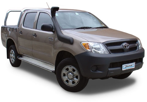 toyota hilux vigo diesel snorkel safari accessoires rando equipement. Black Bedroom Furniture Sets. Home Design Ideas