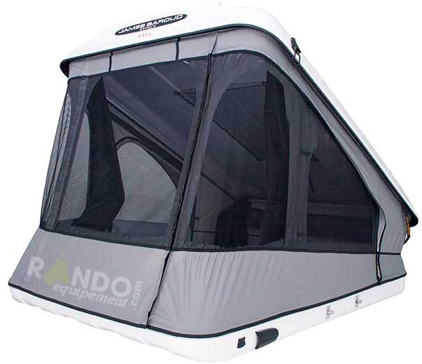 tente de toit james baroud disco space evolution nouveau espace discovery 2014 accessoires. Black Bedroom Furniture Sets. Home Design Ideas