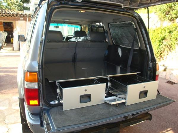 amenagement coffres a tiroirs 4x4 soutes ateliers tiroirs aluminium car 39 box tous nos produits. Black Bedroom Furniture Sets. Home Design Ideas