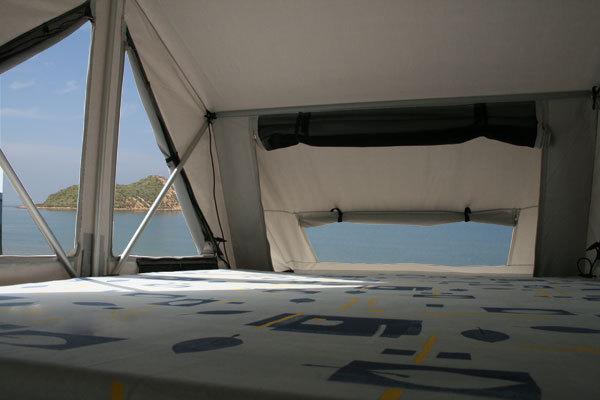 tente de toit nomad 160 tente de toit james baroud accessoires rando equipement. Black Bedroom Furniture Sets. Home Design Ideas