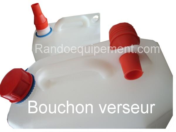 jerrican plastique alimentaire 10 litres avec robinet accessoires rando equipement. Black Bedroom Furniture Sets. Home Design Ideas