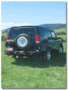 LAND ROVER DISCOVERY TD5 PORTE JERRICAN SIMPLE GAUCHE KAYMAR - Support jerrycan