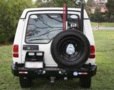 LAND ROVER DISCO I PORTE-JERRYCAN SIMPLE GAUCHE KAYMAR