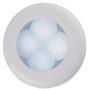 LAMPE RONDE 12V SLIMLINE INOX A LED BLANC - lampe ronde � Led 12v