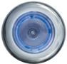SPOT INOX A LED BLANC ANNEAU ROUGE - spot inox � led blanc anneau rouge