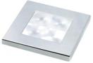 LAMPE CARREE CHROME A LEDS SLIMLINE BLANC 12 V -lAampe Carr�e Chrom� 12v