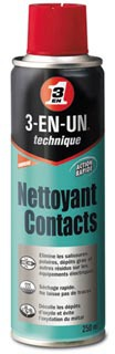 nettoyant contacts 3 en 1 wd 40 nettoyant contact 3 en 1. Black Bedroom Furniture Sets. Home Design Ideas