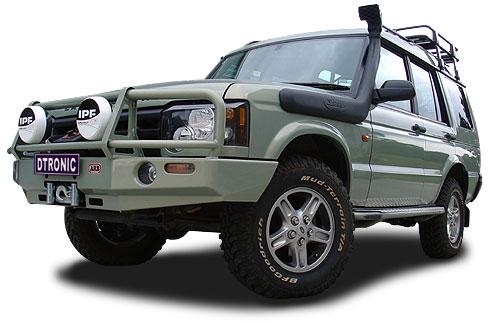 Land Rover Disco Td5 Gt 02 Pare Chocs 4x4 Winch Bars Arb