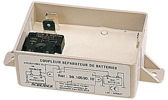 coupleur separateur de batterie 12 v accessoires rando equipement. Black Bedroom Furniture Sets. Home Design Ideas
