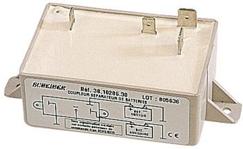 coupleur separateur de batterie grande capacite 10286 accessoires rando equipement. Black Bedroom Furniture Sets. Home Design Ideas
