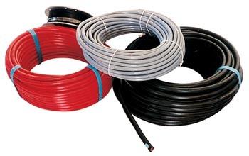 Cable electrique rouge 0 6 mm par 25m accessoires - Internet par cable electrique ...