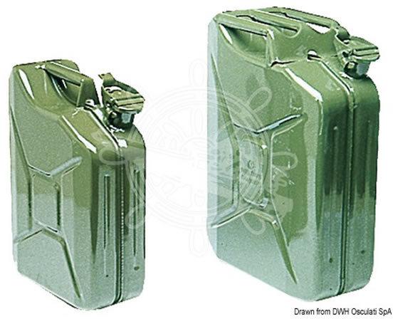jerrican 20 litres jerrycan acier 20l accessoires rando equipement. Black Bedroom Furniture Sets. Home Design Ideas