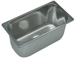 Evier inox rectangulaire 280x380 accessoires rando for Evier mural inox