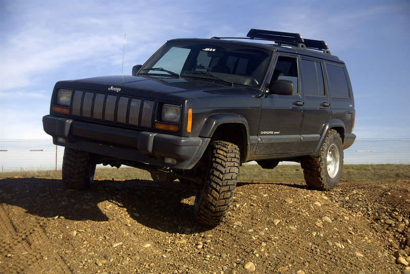 kit de suspensions jeep cherokee xj duret lourd accessoires rando equipement. Black Bedroom Furniture Sets. Home Design Ideas