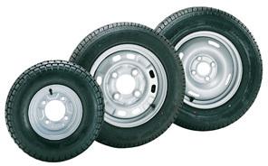 roues completes pour remorques avec jante 4 trous 480 x 8 accessoires rando equipement. Black Bedroom Furniture Sets. Home Design Ideas