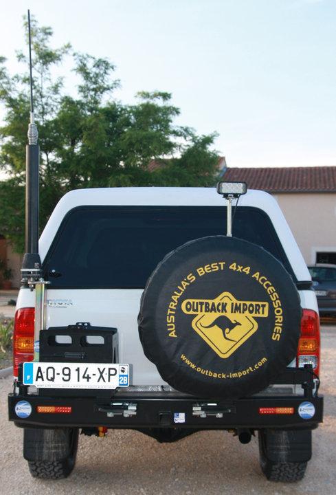 Housse de roue outback 86cm accessoires rando - Housse de barre a roue ...