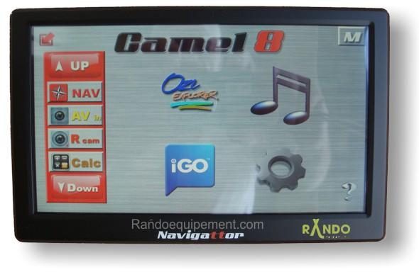 gps 4x4 navigattor camel 8 ce navigateur gps et lecteur cartes accessoires rando equipement. Black Bedroom Furniture Sets. Home Design Ideas