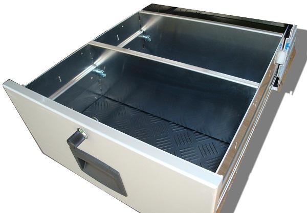 x cloison de separation pour tiroir aluminium car 39 box 450 ou 400 accessoires rando equipement. Black Bedroom Furniture Sets. Home Design Ideas