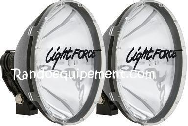 phare longue portee light force 240 ldmr 12v 100w blitz paire accessoires rando equipement. Black Bedroom Furniture Sets. Home Design Ideas