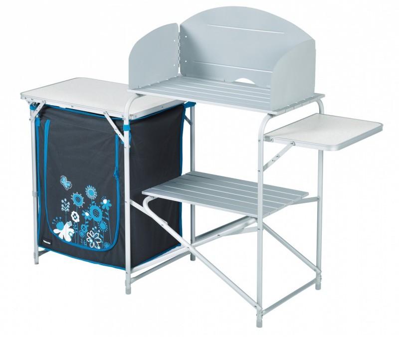 meuble cuisine avec desserte gris camping car accessoires rando equipement. Black Bedroom Furniture Sets. Home Design Ideas