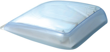Lanterneau toit ouvrant mini heiki blanc creme ral 9001 for Fenetre ral 9001