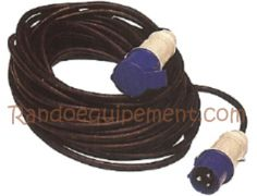 CABLE NEOPRENE RALLONGE ELECTRIQUE CAMPING