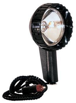 PROJECTEUR A MAIN HALOGENE Phare portable prise allume cigare 4x4 camping