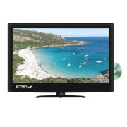 TELEVISEUR CAMPING CAR 12V/220 TV LED DVD 19 Pces