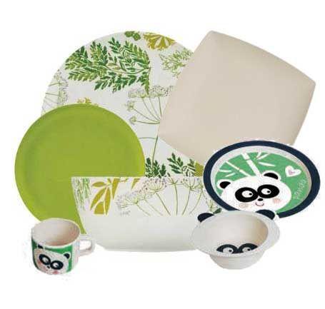 vaisselle bambou vaisselle ecologique en fibre de bambou. Black Bedroom Furniture Sets. Home Design Ideas