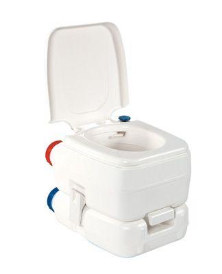 Wc chimique portable camping bateau caravane bi pot fiamma for Wc chimique portable