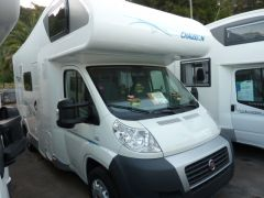 CHAUSSON FLASH S1 OCCASION 4 - camping-car FLASH S1 2010 CLIMATISE 4/5/5 PLACES