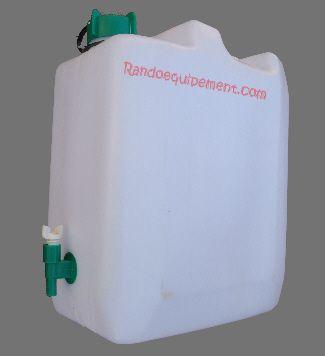 Jerrican plastique alimentaire 35 litres avec robinet - Jerrican alimentaire 20l avec robinet ...