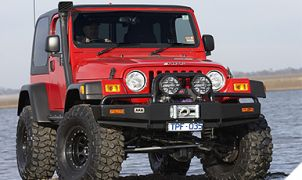 JEEP WRANGLER JK PARE-CHOCS ARB 4X4 WINCH BARS