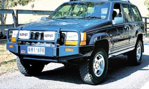JEEP GRAND CHEROKEE ZJ PARE-CHOCS ARB 4X4 WINCH BARS