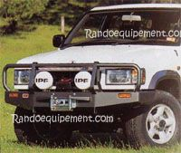 ISUZU TROOPER >92 PARE-CHOCS ARB 4X4 WINCH BARS