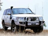 LAND ROVER DISCOVERY TD5 >02 PARE-CHOCS ARB 4X4 WINCH BAR Parechoc De Luxe image 1