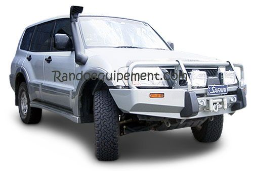 MITSUBIHI PAJERO DID >2003 PARE-CHOCS ARB 4X4 WINCH BAR Parechoc De Luxe