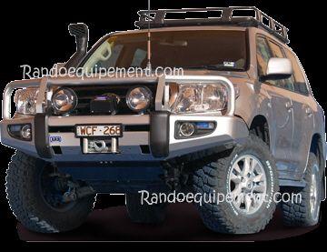 Nissan Navara D40 Pathfinder R51 Pare Chocs Arb 4x4 Winch