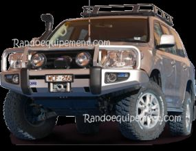 NISSAN NAVARA D40 PATHFINDER R51 PARE-CHOCS ARB 4X4 WINCH BAR Parechoc De Luxe