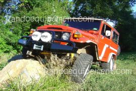 TOYOTA BJ 40 / 42 / 45 PARE-CHOCS ARB 4X4 WINCH BAR Parechoc De Luxe