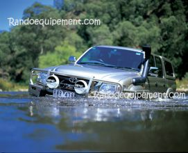 TOYOTA HILUX >2002 AVEC ELARGISSEURS PARE-CHOCS ARB 4X4 WINCH BAR De Luxe