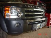 LAND ROVER DISCOVERY III PLATINES TREUIL
