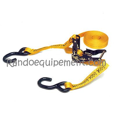 SANGLE A CLIQUETS 4.5M SUR ŒILLETS RHINORACK 4X4