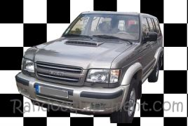 ISUZU OPEL TROOPER V6   SNORKEL SAFARI