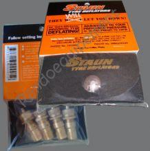 DEGONFLEUR 4x4 STAUN 0 / 0.7 BAR - 4 VALVES - dégonfleur Staun pneu 4X4