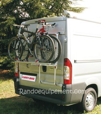 PORTE-VELOS 200 DJ fourgon Fiat Ducato  Carry-Bike 200 après 06/2006 Carry Bike