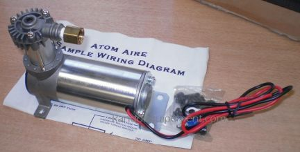 COMPRESSEUR ATOM AIR 0.10HP Compresseur 4x4 12V