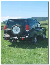 LAND ROVER DISCOVERY TD5 Pare-chocs 4x4 4x4 KAYMAR
