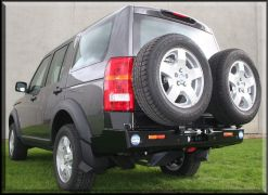LAND ROVER DISCOVERY III PORTE JERRICAN SIMPLE GAUCHE KAYMAR - Support jerrycan